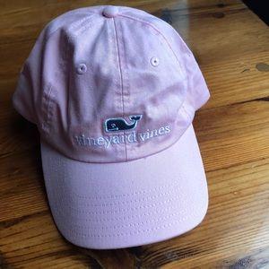 Vineyard Vines Pink Whale Hat